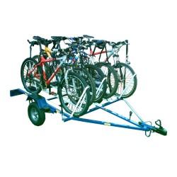 carreta para Bike até 10 bicicletas - aluguel